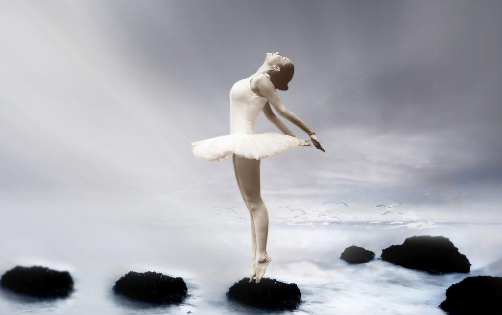 ballerina posture singing