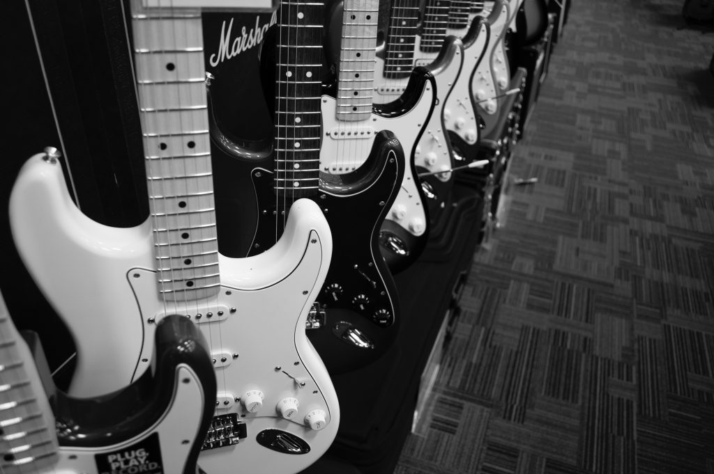 electric guitars songwriting