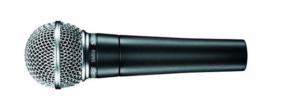 Shure SM58 vertical shot