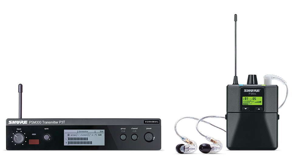 Shure P3TRA215CL PSM300 Wireless