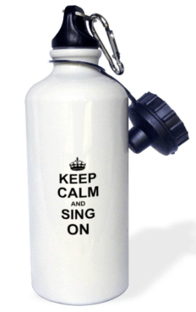 Singing Water Bottle 3d Rose